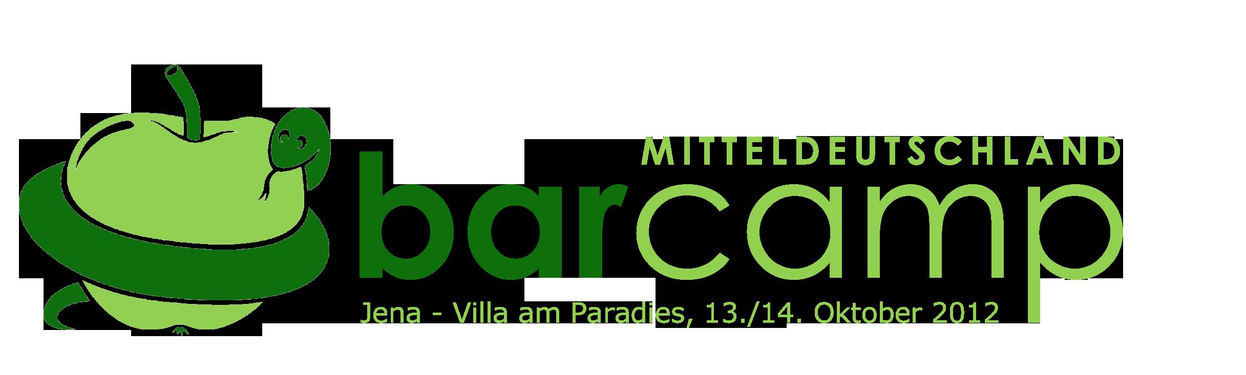 Logo 4. BarCamp Mitteldeutschland / Jena
