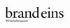 BrandEins Logo