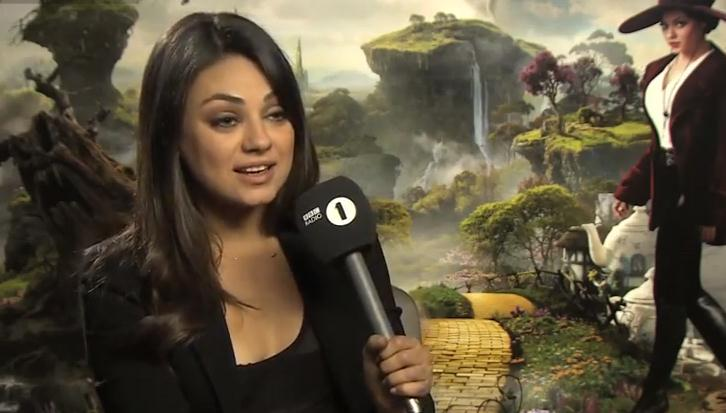 Mila Kunis Interview