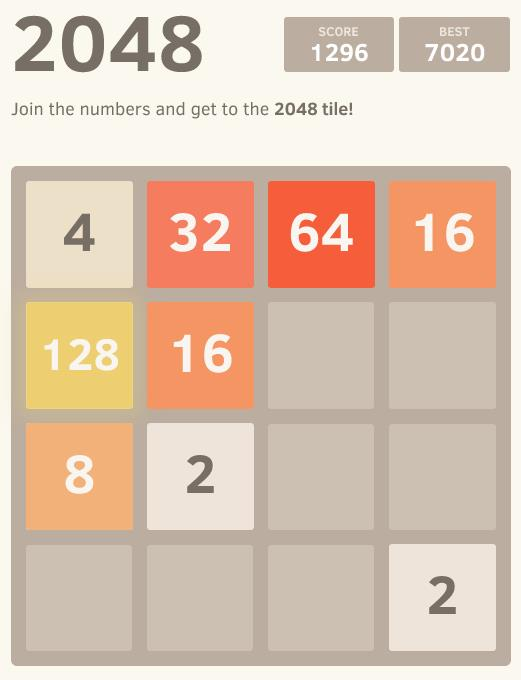 Online Game 2048