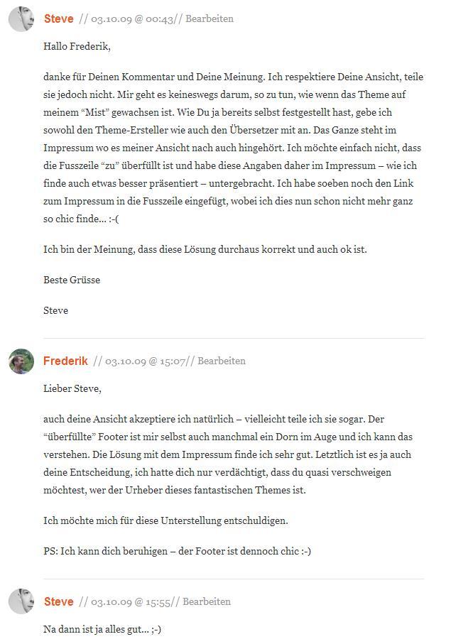 Kommentare zu Wasserzeichen - Ja oder Nein auf pixmake.de