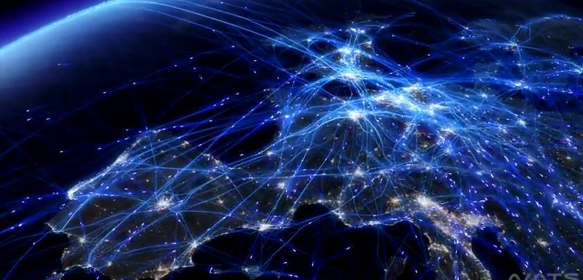 NATS - Europ 24 - Visualisierung Flugverkehr