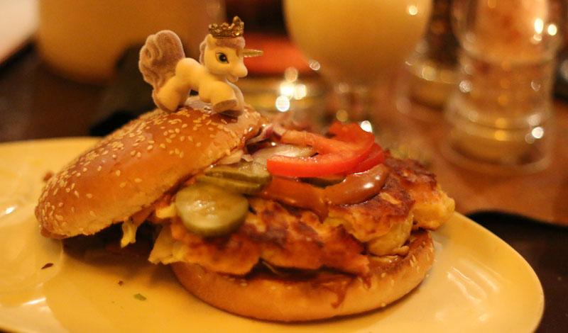 Prärie Burger (Einhorn Edition) - Texas Inn - BnBLeipzig1