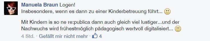 re:publica und Familie