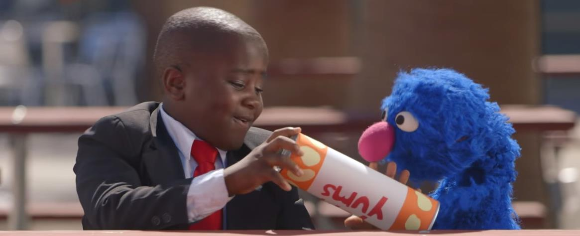 Kid President and Grover Pep Talk for Socktober