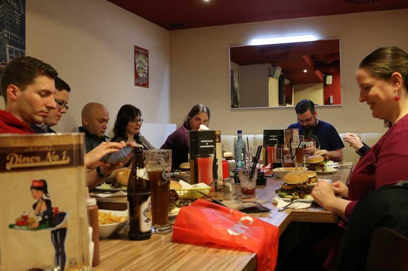 Diner No. 1 - Gruppenbild