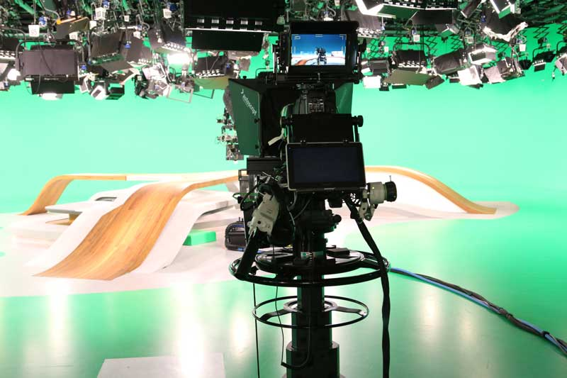 ZDF virtuelles Studio