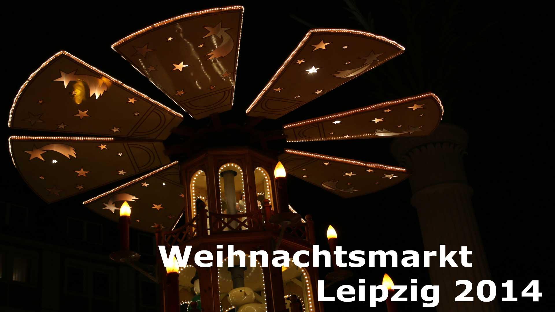 Weihnachtsmarkt Leipzig 2014
