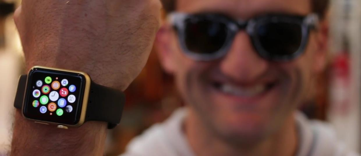 Apple Watch gold - Casey Neistat