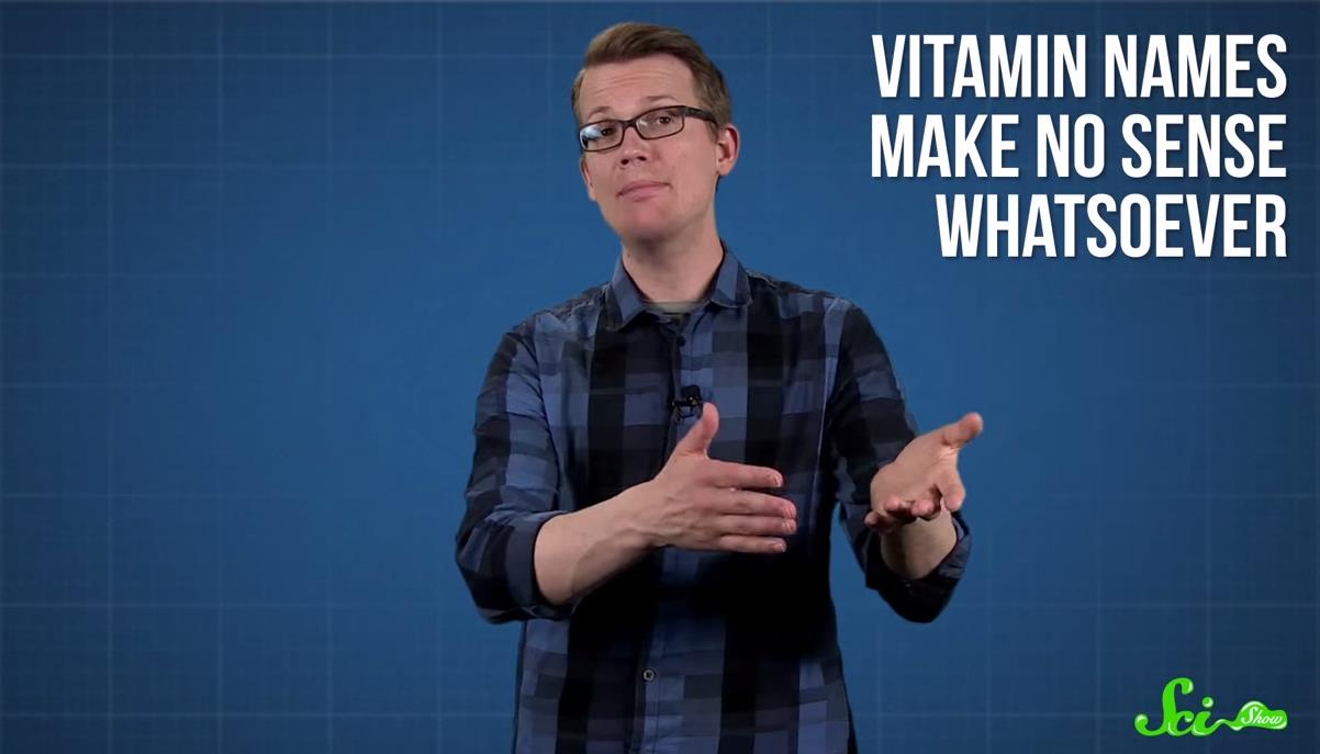 vitamin names - scishow