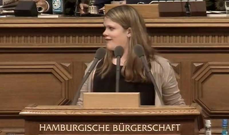 Annkathrin Kammeyer Hamburger Bürgerschaft