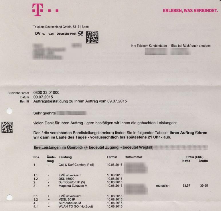 Telekom Umstellung Anschluss