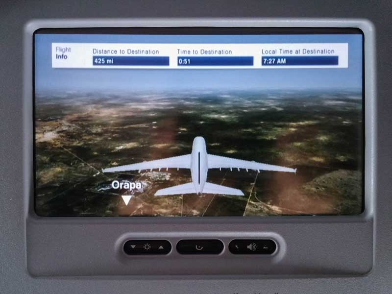flight information - South Africa vacation