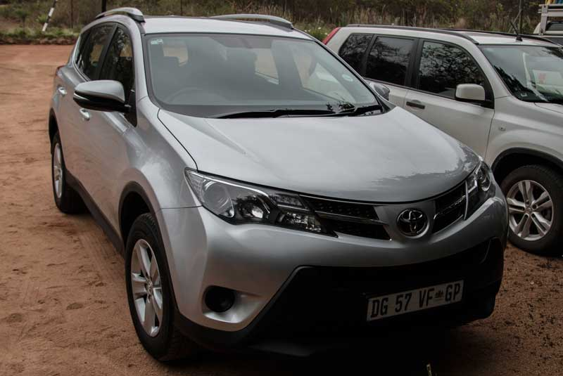 rental car - South Africa vacation - part one