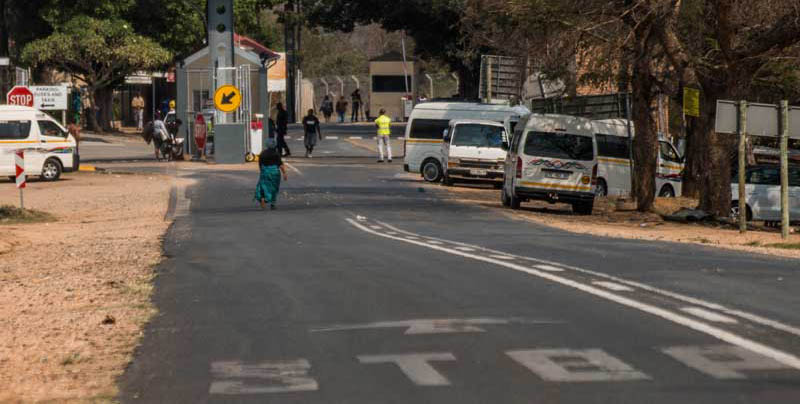 South Africa - border control - Swaziland