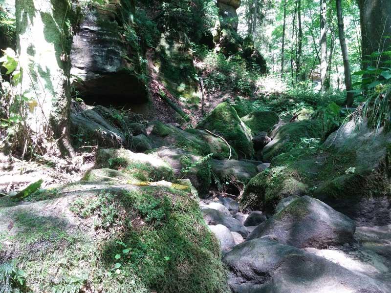 Wanderung Sächsische Schweiz - Uttewalde